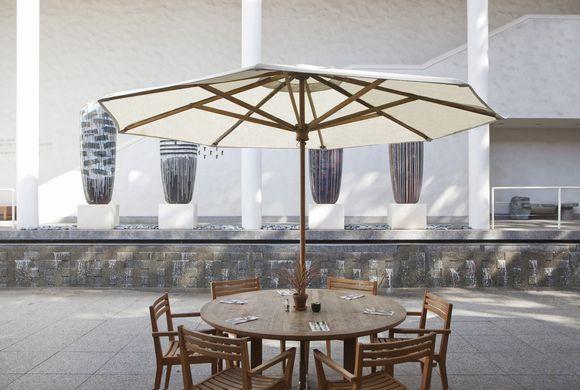 ホノルルミュージアムカフェハワイの美術館の中にある美味しいレストランとカフェ