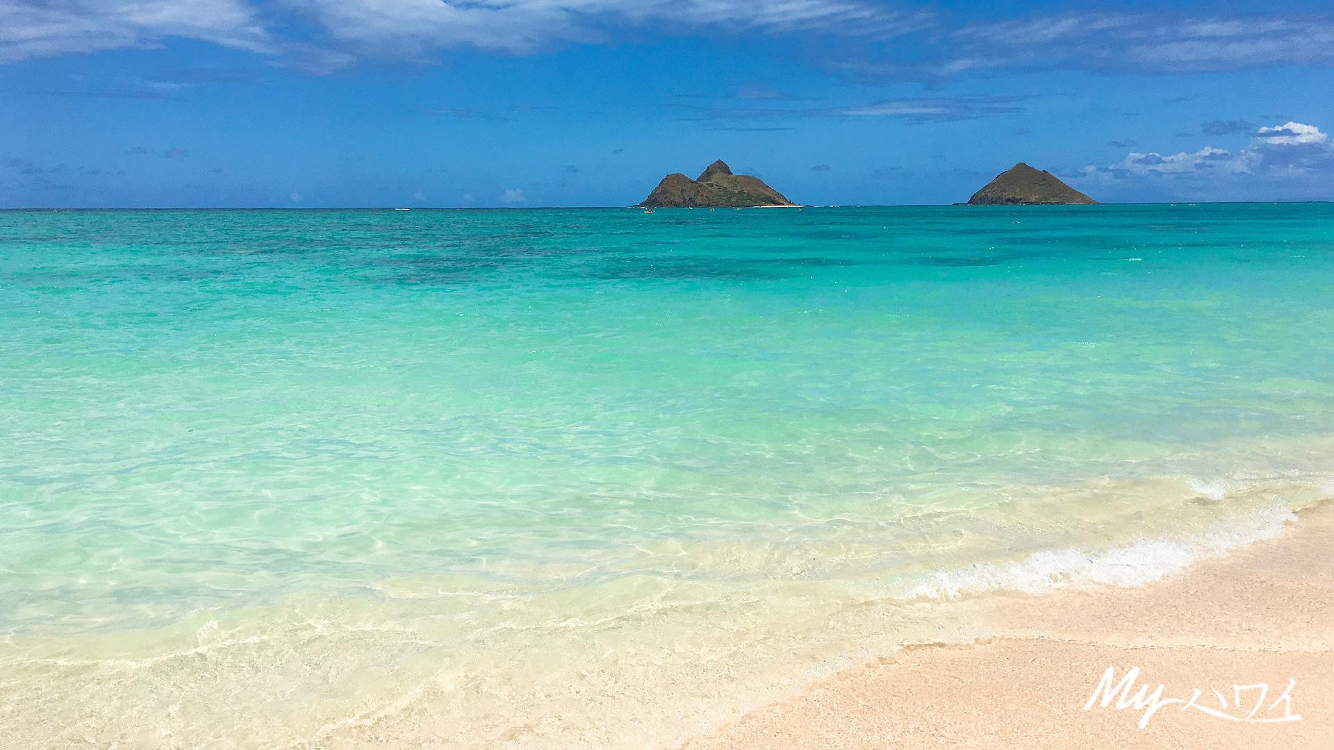 ハワイの景色をデスクトップの壁紙やzoomの背景に