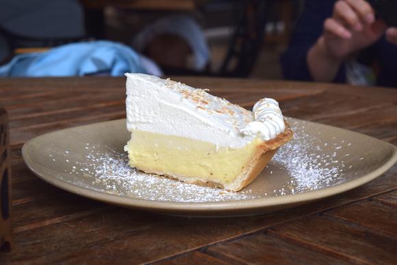 モンキーポッドキッチンのクリームパイ
