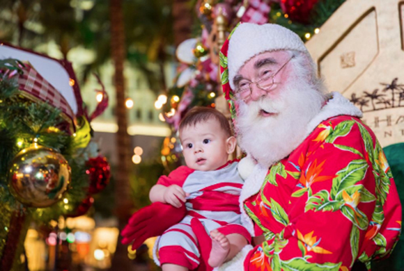 holiday-kick-off-santa-and-baby
