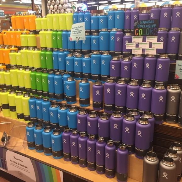 ハイドロフラスクの水筒はハワイで大人気