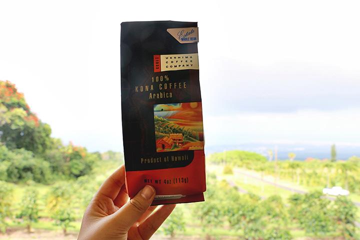 ハワイ、ハワイ島、UCCハワイの直営農園