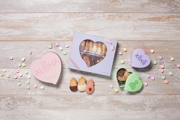 ホノルル・クッキー・カンパニーのバレンタインパッケージ