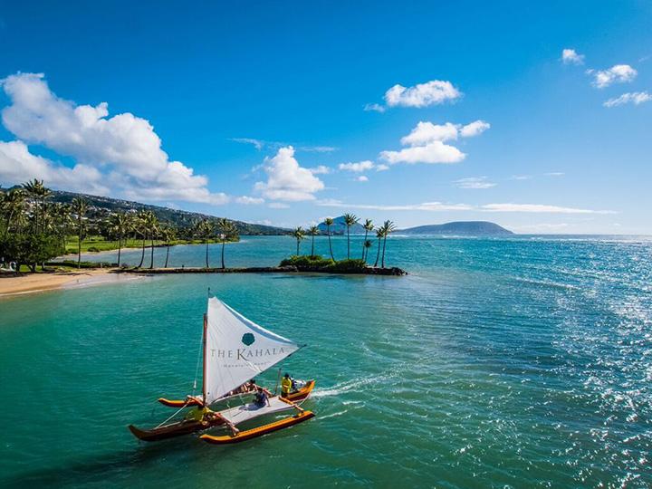 ザ・カハラで「ホロキノ・ハワイ・カヌーセーリングツアー」開始
