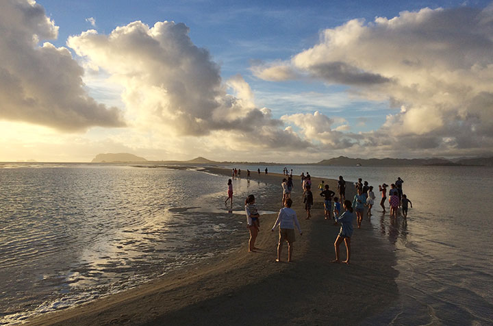 サンドバー、天国の海