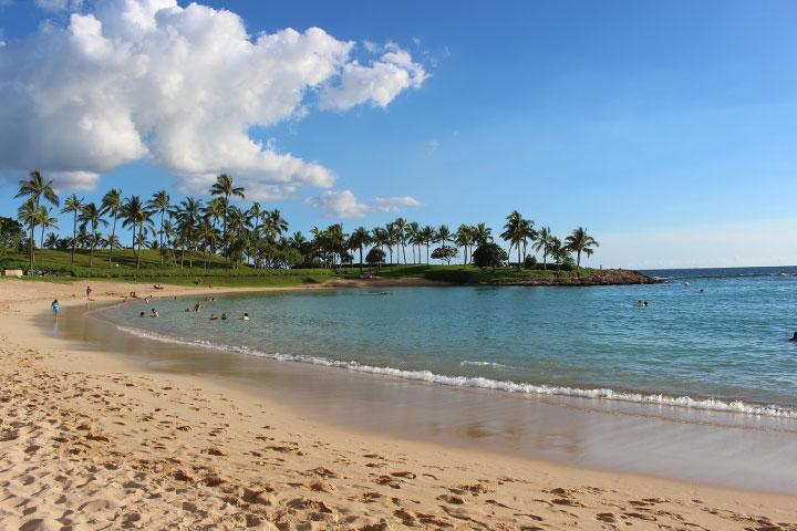 ハワイのベストビーチ、全米ナンバーワン