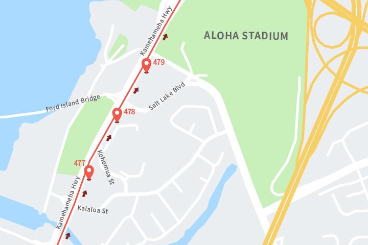 ザ・バス地図
