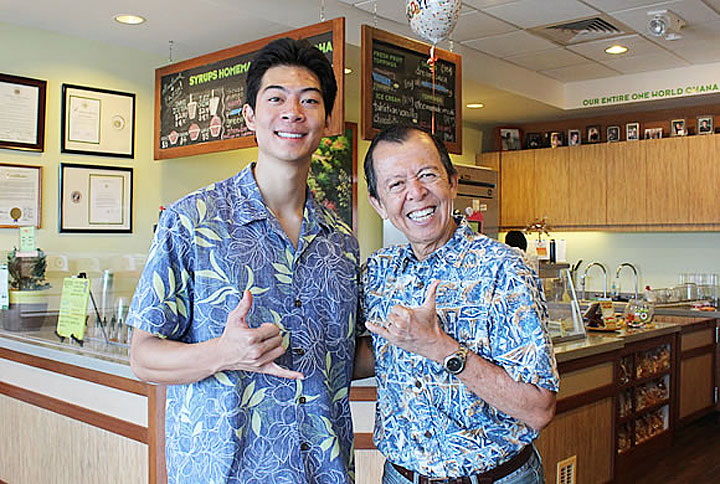 ハワイで人気のシェイブアイス