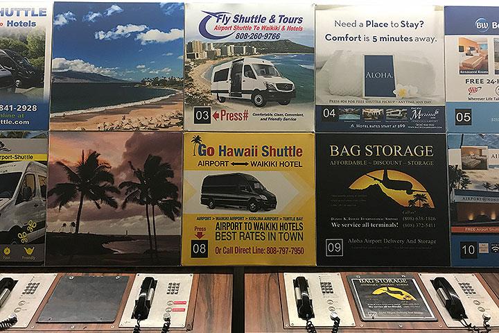 ハワイ旅行の交通手段
