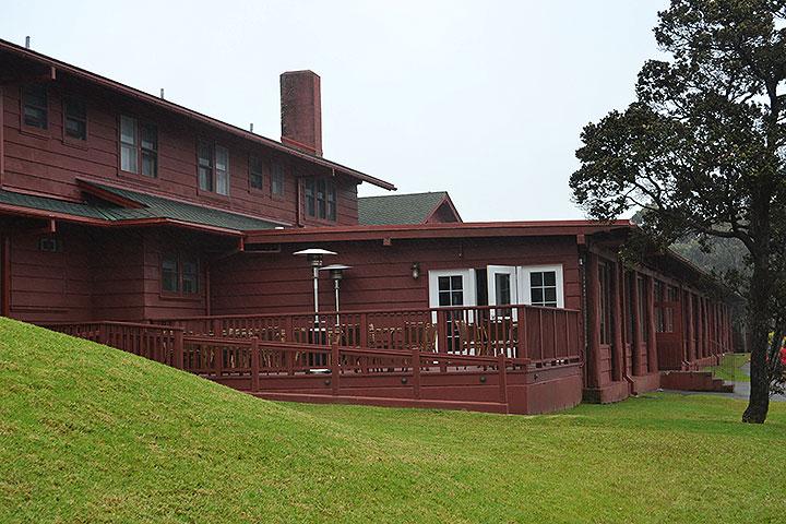 ボルケノハウス、キラウエア火山