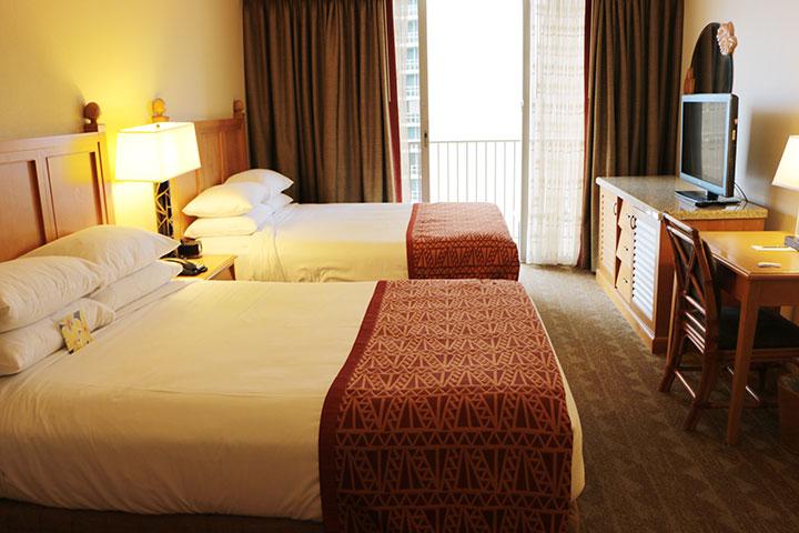 エンバシー・スイーツ クイーンベッド2つ 2ベッドルーム