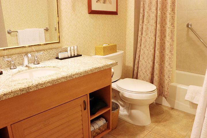 エンバシー・スイーツ バスルーム