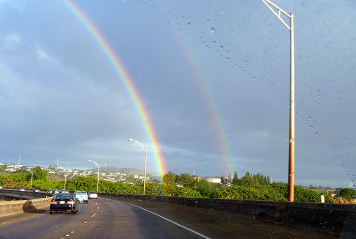 ハワイでもっとも幸福な都市はパールシティ