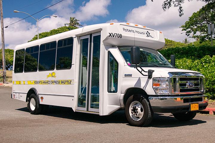 ロバーツのシャトル、シャトルバス