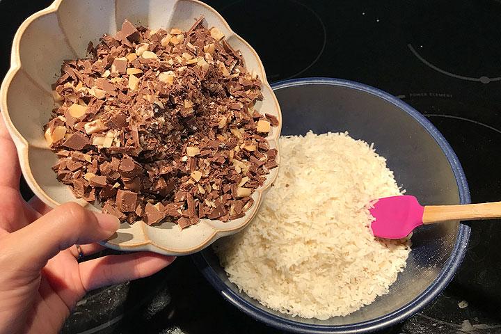 ハワイアンホースト、マカダミアナッツ