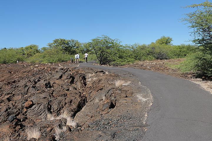 ハワイ島、オーラが見える洞窟