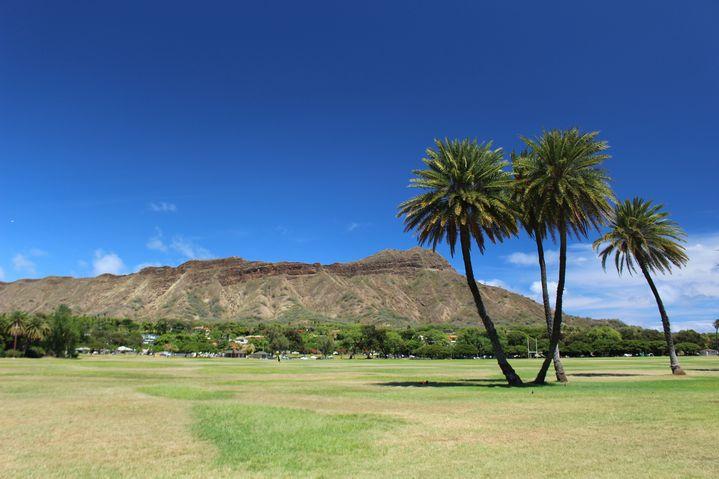 平成最後の年末、2018年ハワイで起きた事件、ダイヤモンドヘッド