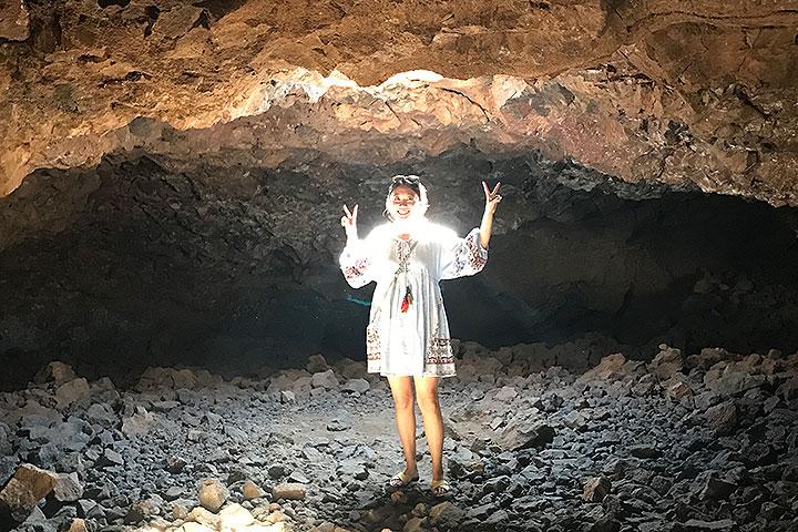 ハワイ、オーラが見える洞窟