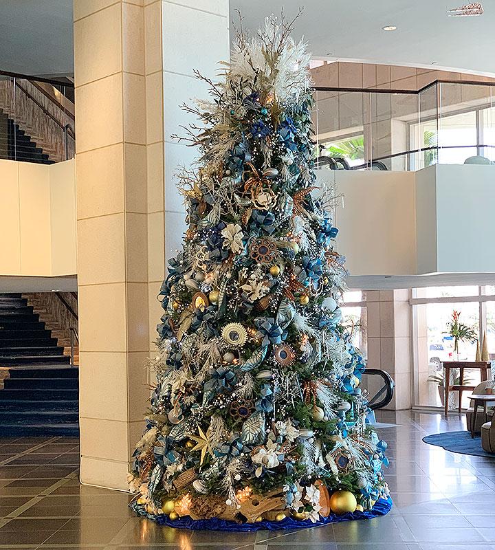 プリンスワイキキ、クリスマスツリー