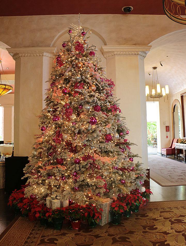ハワイのクリスマス、ロイヤルハワイアンホテル