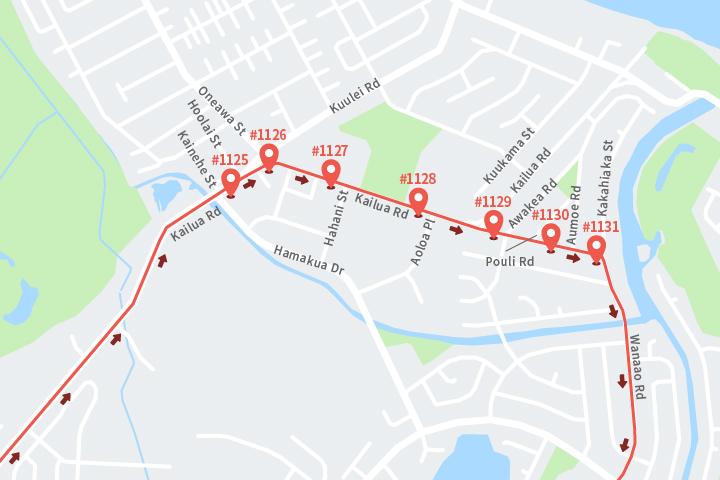 カイルア バス路線
