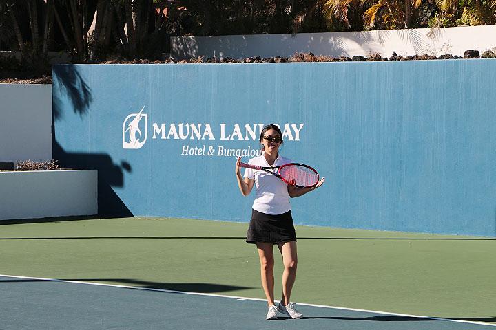 テニス、マウナラニ