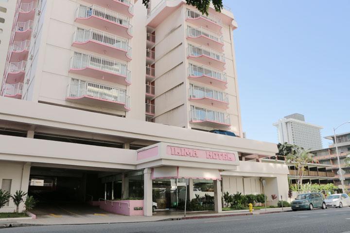 ホテルでの喫煙について イリマホテル