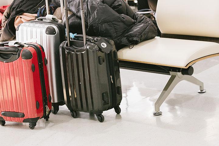 空港 バッゲージエリア