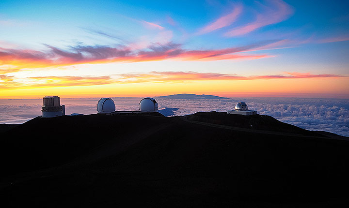 ハワイ島、マウナケア山