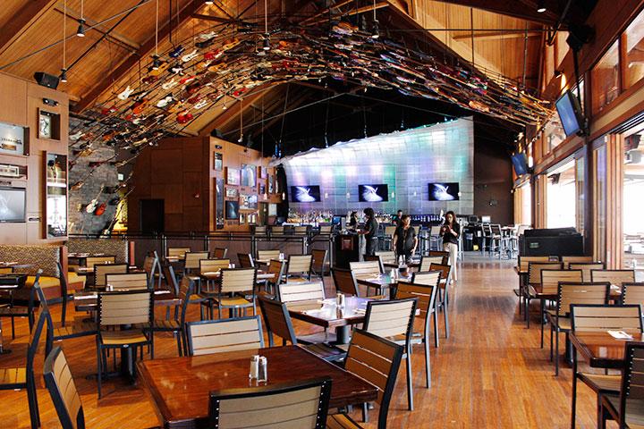ハードロックカフェ・ホノルル 2階
