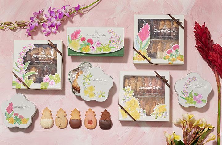 ホノルル・クッキー・カンパニー フローラル・コレクション
