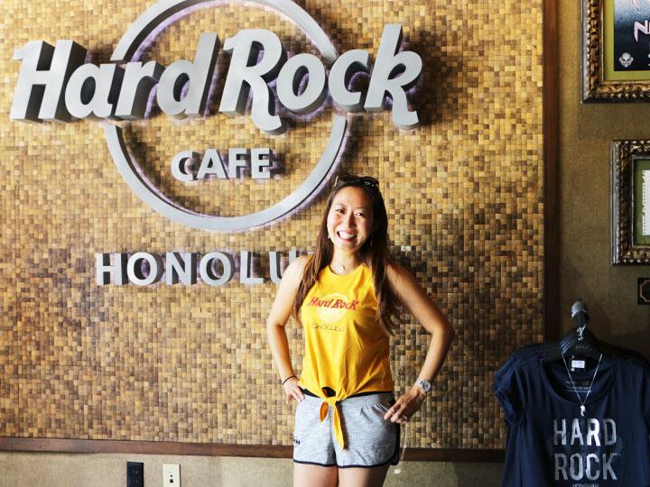 ハワイ限定、ハードロックカフェ