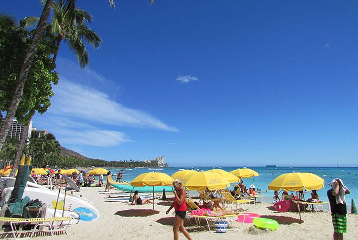 ハワイの天気