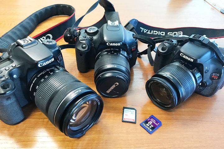 ハワイ旅行、持ち物、カメラ、メモリーカード