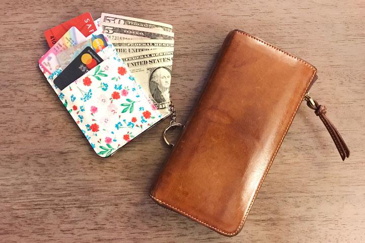 ハワイ旅行、財布