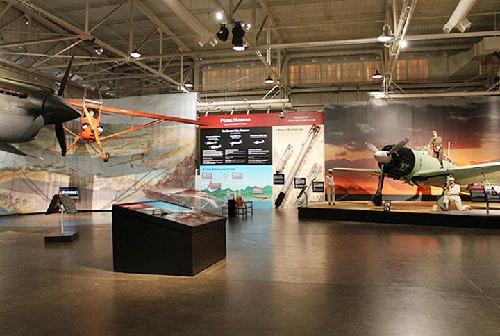 パールハーバー、太平洋航空博物館