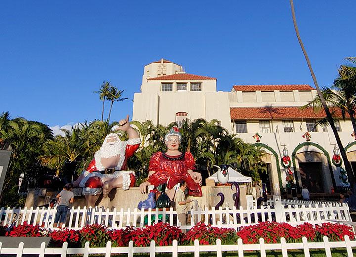 ハワイ、クリスマス