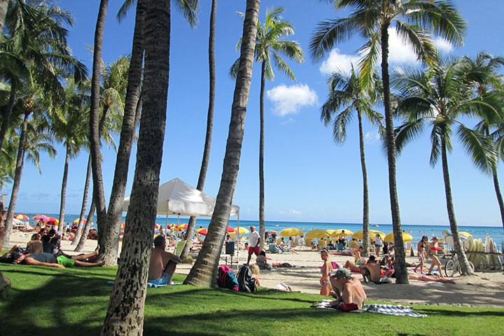 ハワイ訪問客、増加