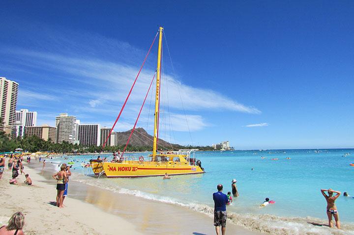 ハワイ旅行、注意喚起