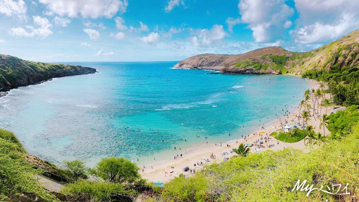 ハワイ、ハナウマ湾