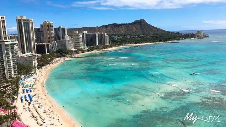 ハワイ、ワイキキ、壁紙
